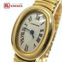 CARTIER カルティエ W15109D8 ミニベニュワール クォーツ 腕時計 K18YG レディース ゴールド ゴールド 【中古】