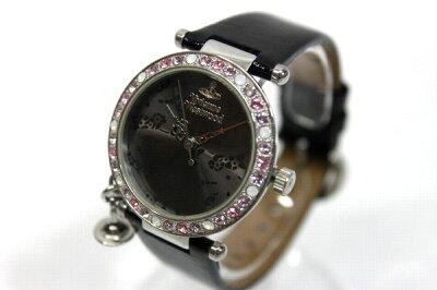 【VivienneWestwood】ヴィヴィアンウエストウッドレディース腕時計クォーツVV081GDBR【】《対応》【_包装】