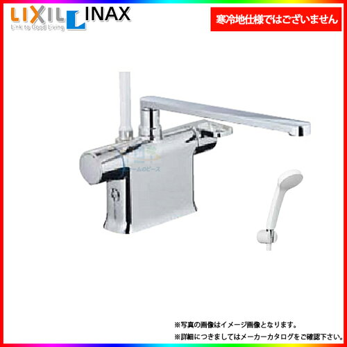 * [BF-B646TSD(300)-A120] リクシル INAX 浴室シャワー水栓 サーモ付 台付きタイプ デッキタ...