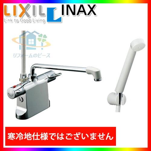 *[BF-B646TSD(300)-A85] リクシル INAX 浴室シャワー水栓 サーモ付 台付きタイプ デッキタイ...