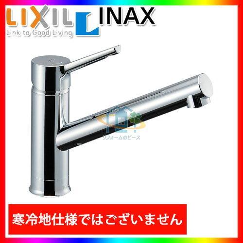 *[SF-WM420SYX(JW)] INAX シングルレバー水栓 キッチン水栓 蛇口 ワンホールプ 台付き エコ...