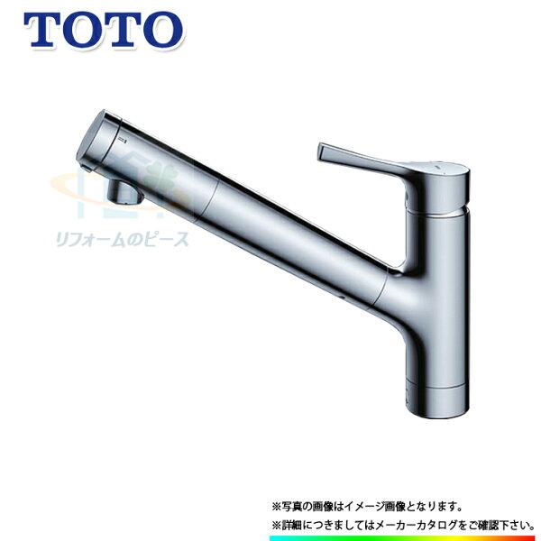 *あす楽 TKS05307J TOTO浄水器兼用混合水栓台付きタイプ蛇口