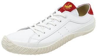 スピングルムーブ SPINGLE MOVE SPM-107 White/Red スピングルムーブ SPM107 white / red leather sneakers SPINGLE MOVE