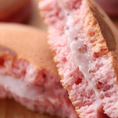 可愛くておいしい、いちごスイーツのお取り寄せ 完熟いちご菓子研究会 完熟いちごパンケーキ