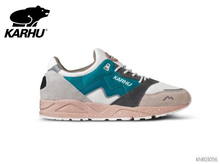 カルフ KARHU KH803056 アリア ホワイトキャップグレー/モザイクブルー スニーカー 正規品 新品 メンズ レディース ユニセックス 靴画像