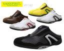 【4/15限定!ポイント17倍確定!3エントリーで】 VAN SPIRIT ヴァンスピリット VR1160 メンズ カジュアルシューズ スライダー スニーカー 靴