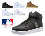 MAJOR LEAGUE BASEBALL MLB MLB-2011 メジャーリーグベースボール カジュアル スニーカー メンズ レディース ユニセックス 男女兼用 ハイカット 正規品