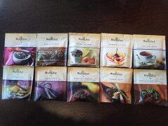 マイティーリーフ 10種類のセットです。紅茶・ハーブティー・緑茶 1セットでメール便無料