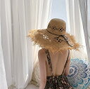 雑誌 Seventeen掲載 表紙 ラフィア ストローハット 夏 麦わら帽子 リゾート ハット ざっくり編み つば広 女優帽 UV対策 ナチュラル素材 日焼け防止 雑誌掲載