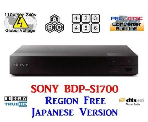 ソニー 日本語バージョン SONY BDP-S1700 ブルーレイ&...