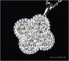 18金ダイヤモンドネックレス