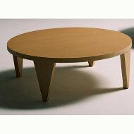 折れ脚テーブル幅105cm北欧ナチュラル丸型円形おしゃれシンプル座卓送料無料タモ