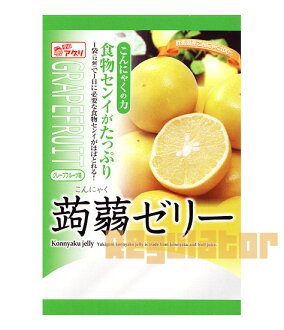 Konnyaku jelly grape fruit taste 6 pieces