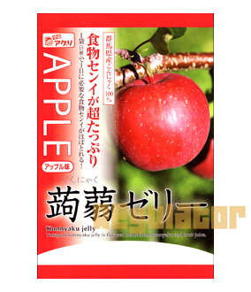 Konnyaku jelly Apple taste 12 pieces