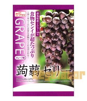 Konnyaku jelly grape flavor 6 pieces