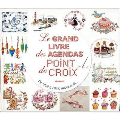●取寄品●[宅配便]Le Grand Livre des Agendas - Point de croix /DMCフランス刺繍メーカー手芸...