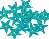 【スパンコール】約4800個セット(星形)キラキラデコレーション手芸服飾資材(プラ製)/15mm×14mm