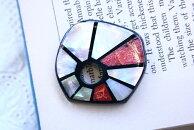 シェルパーツ1個貝殻で作られたオールハンドメイドのシェルカボション手芸やアクセサリーのモチーフパーツに/39mm×37mm