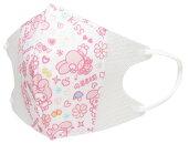 【子供用マスク】マイメロディ(10枚入)サンリオキャラクター立体マスク/風邪花粉ほこり予防(ウィルス飛沫99%以上カット)キッズ用マスク立体構造だから顔にフィット