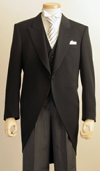 41f82a264f80a 高品質 モーニングコート コールズボン付き(ウールマーク日本製 ...