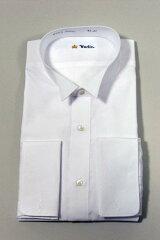 【日本製】ウィングカラーシャツ白ダブルカフス【送料無料】 フォーマル FORMAL メンズ Men's 男性用39