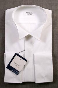 ウイングカラーシャツ | ウィングカラーシャツ カフスボタン カフス付 ダブルカフス フライフロント 比翼 形態安定 ウイングカラー ウィングカラー ウイングシャツ シャツ ワイシャツ カフス セット フォーマル メンズ モーニング タキシード ll 3l 結婚式 TOL910CAF002