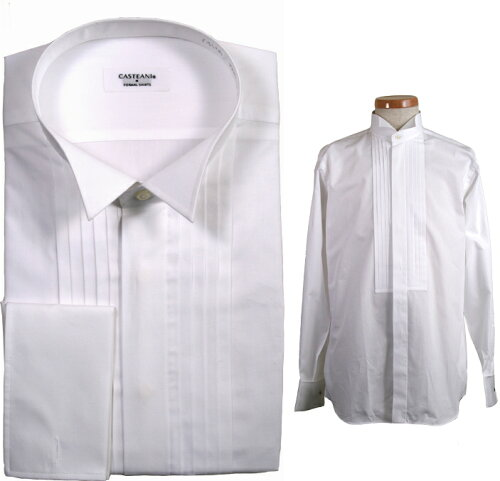 綿100% ウイングカラーシャツ タキ...