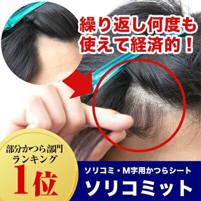 ソリコミ・M字用かつらシート ソリコミット