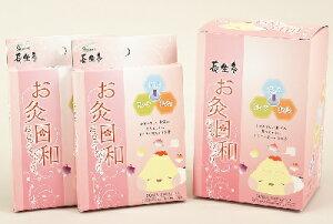 長生灸 お灸日和 50壮 x6箱 【選べるおまけ付き】 Chousei-kyu Moxa Biyori 50 pcs x 6 boxes