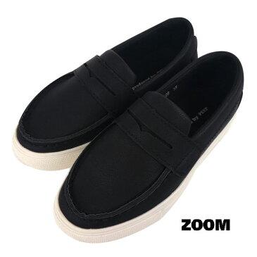 ZOOM(ズーム) ローファー (18-21) 靴 おしゃれ キッズ 男の子 女の子 スリッポン かわいい 卒業式 フォーマル 子供 黒