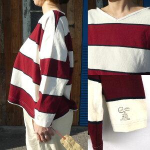 GOTOHOLLYWOOD(ゴートゥハリウッド)ボーダーテンジクサコTEE(150-160)8分袖Tシャツおしゃれレディース