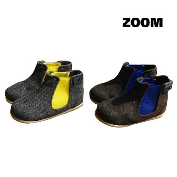 【SALE 40%OFF】ZOOM(ズーム) BABY SIDE GOA BOOTS (13.0-14.5)【楽ギフ_のし宛書】 靴 おしゃれ ベビー 男の子 女の子 ブーツ かわいい 子供