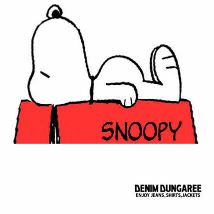 DENIM DUNGAREE (デニム&ダンガリー) SNOOPY コラボ 在庫状況