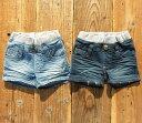 Lee(リー)GIRLS BUDDYLEE SHORTS デニムショートパンツ (100-160) 【ポスト投函便送料無料】 定番 デニム おしゃれ キッズ 女の子 かわいい 子供服