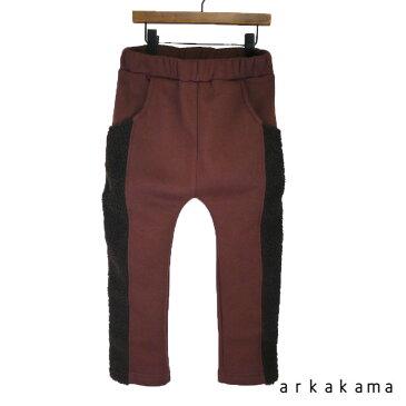arkakama (アルカカマ) MOCO LINE PANTS (XL) スウェットパンツ 子供服 男の子 女の子 おしゃれ