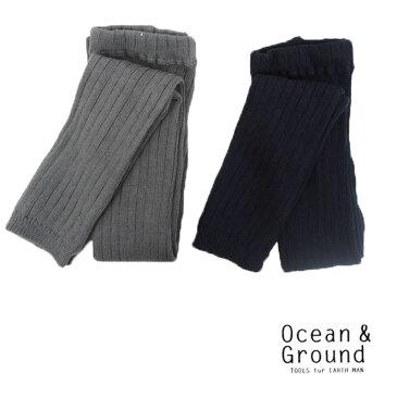 OCEAN&GROUND(オーシャン&グラウンド) リブレギンス (80-140)  おしゃれ キッズ 女の子 かわいい 子供服