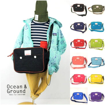 OCEAN&GROUND(オーシャンアンドグラウンド)ショルダーバッグ GOODAY 通園バッグ 保育園 幼稚園 おしゃれ キッズ 男の子 女の子 かわいい