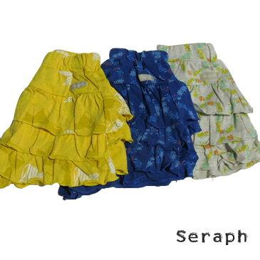 【SALE 50%OFF】SERAPH (セラフ) 3柄ティアードパンツ(80-150) 子供 女の子