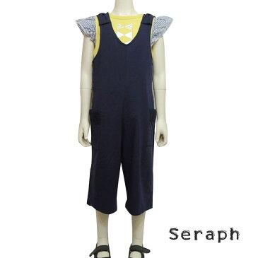 【SALE 50%OFF】SERAPH (セラフ)オールインワン(90-140) 6分丈 オールインワン 子供 女の子