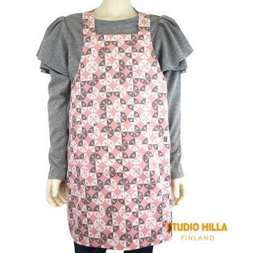 Studio Hilla(スタジオヒッラ) キッズエプロン(100-130) ドミノ おしゃれ キッズ 女の子 かわいい 子供 北欧 フィンランド
