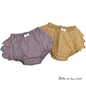 d63b17b0e0783 Little s.t.closet (STクローゼット) フリフリブルマ ベビー おしゃれ 女の子 かわいい ギフト フリルがかわいいブルマ夏はTシャツに合わせてもかわいいですギフトにも  ...