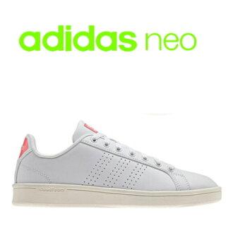 愛迪達adidas女士運動鞋AW3974雲形式散裝列安adidas neo CLOUDFOAM VALCLEAN●