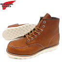 レッドウィング アイリッシュセッター メンズ ブーツ 875 REDWING 正規品 RED ORO-LEGACY 6インチ クラシックモカシン