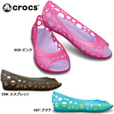 クロックス レディース 大きいサイズ サンダル フラットシューズ アドリナ フラット crocs adrina flat 11238 女性用 軽量 wo
