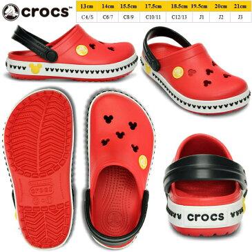 クロックス キッズ ミッキー クロックバンド ミッキー クロッグ 3.0 キッズ 14609 crocs サンダル