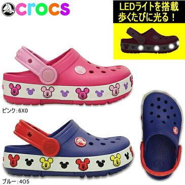 クロックス クロックスライツ ミッキー クロッグ キッズ 203072 CROCS crocslights Mickey clog kids サンダル