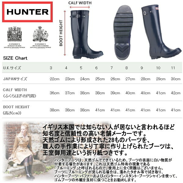 Hunter Rain Boots Toddler Size Chart - All About Boots
