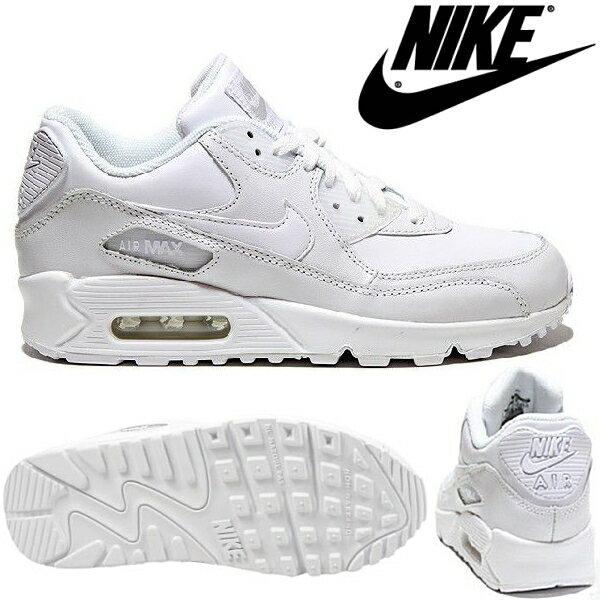 ナイキエアマックス90NIKEAIRMAX90GS[307793-111]レディース ジュニアスニーカー女性用靴シューズjuniorladiessneaker