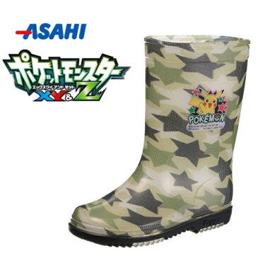 ポケットモンスター ポケモン R203 キャラクター 男の子 キッズ ジュニア レインブーツ 長靴 雨靴