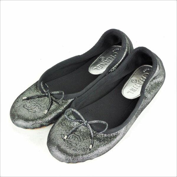 レディース靴, その他 CHANEL 37 (24cm) AY34C